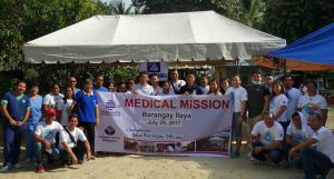 Medical mission serves 3 hinterland barangays